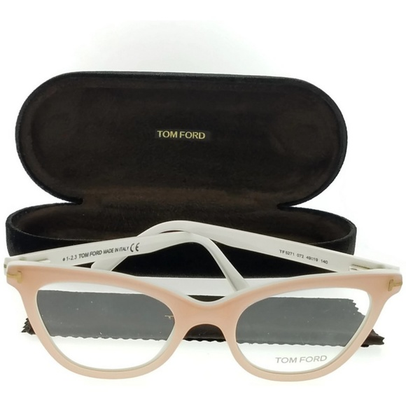 741332236e3de FT5271-072-49 Women s Pink Frame Eyeglasses